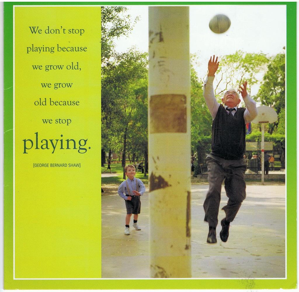 spelen en oud worden