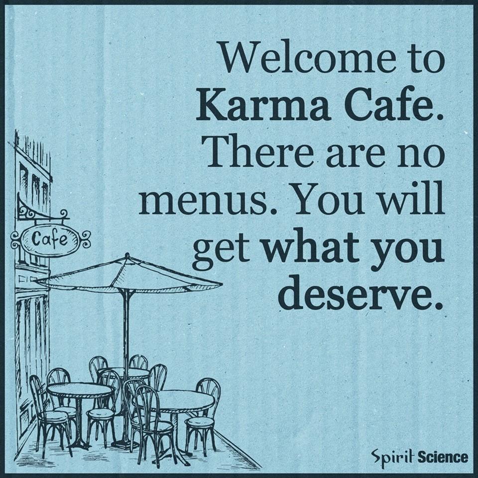 Mooie gedachte Karma