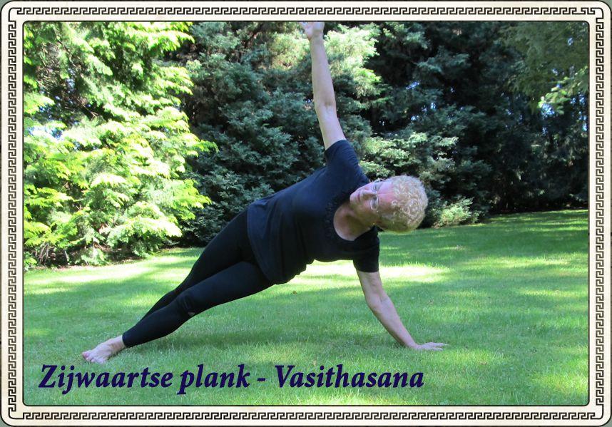 Zijwaartse plank - Vasithasana